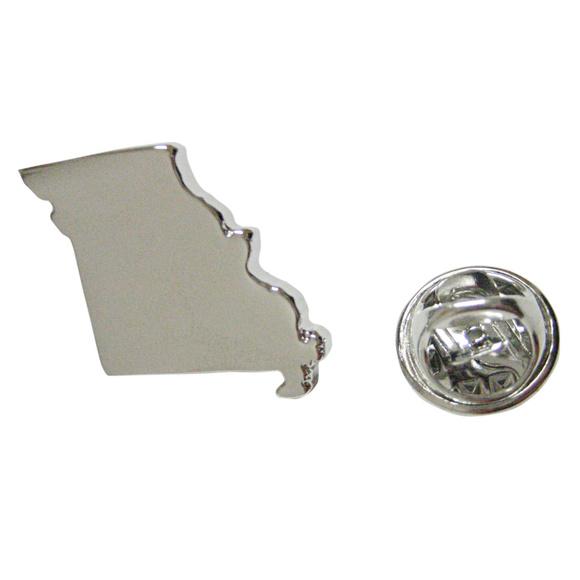 Missouri State Flag Lapel Hat Tie Pin Tack